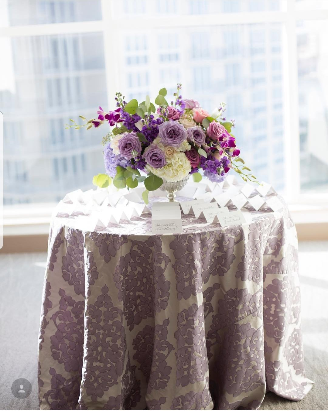 Waterston purple wedding