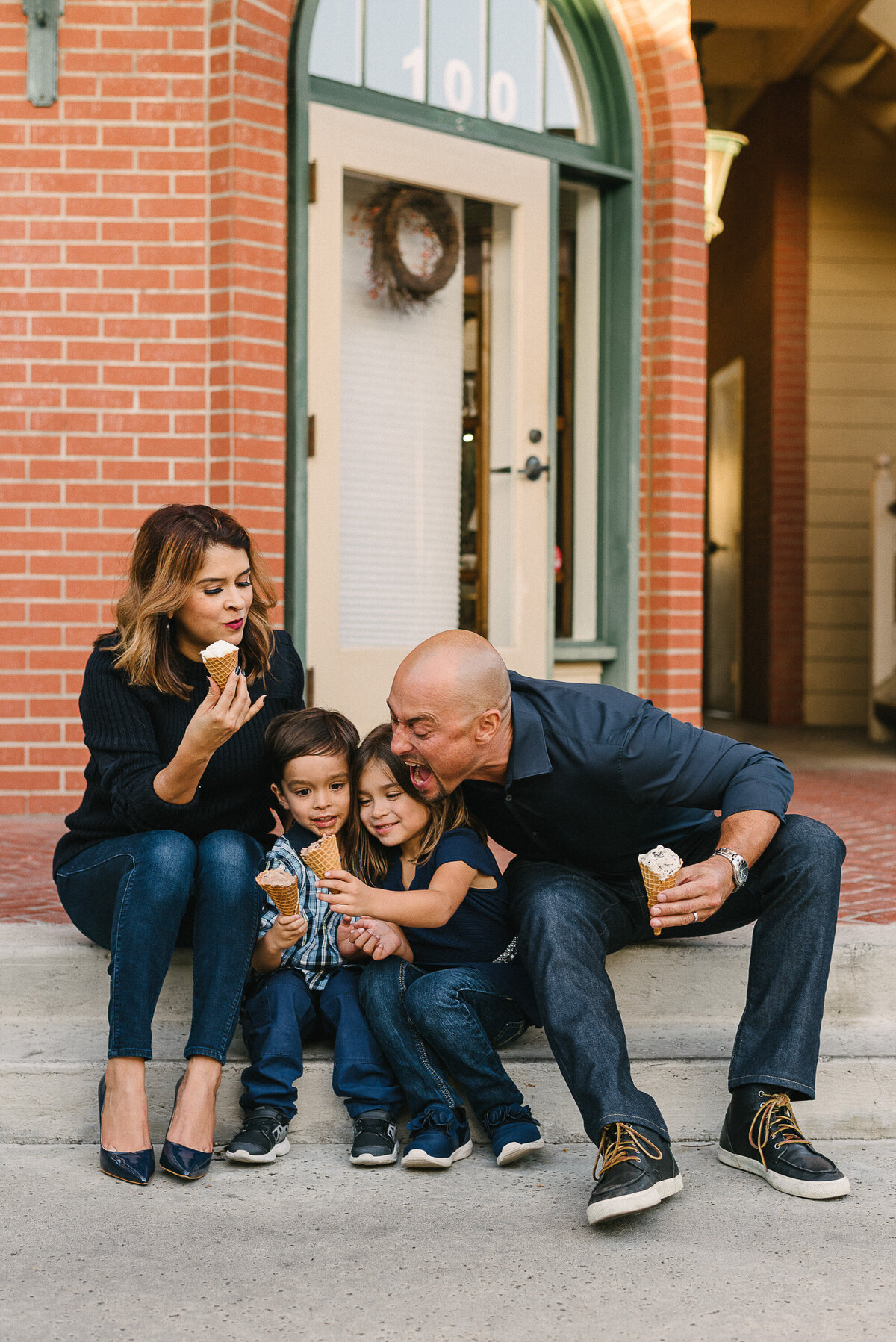 Carlsbad Family Photographer-ice cream family-34