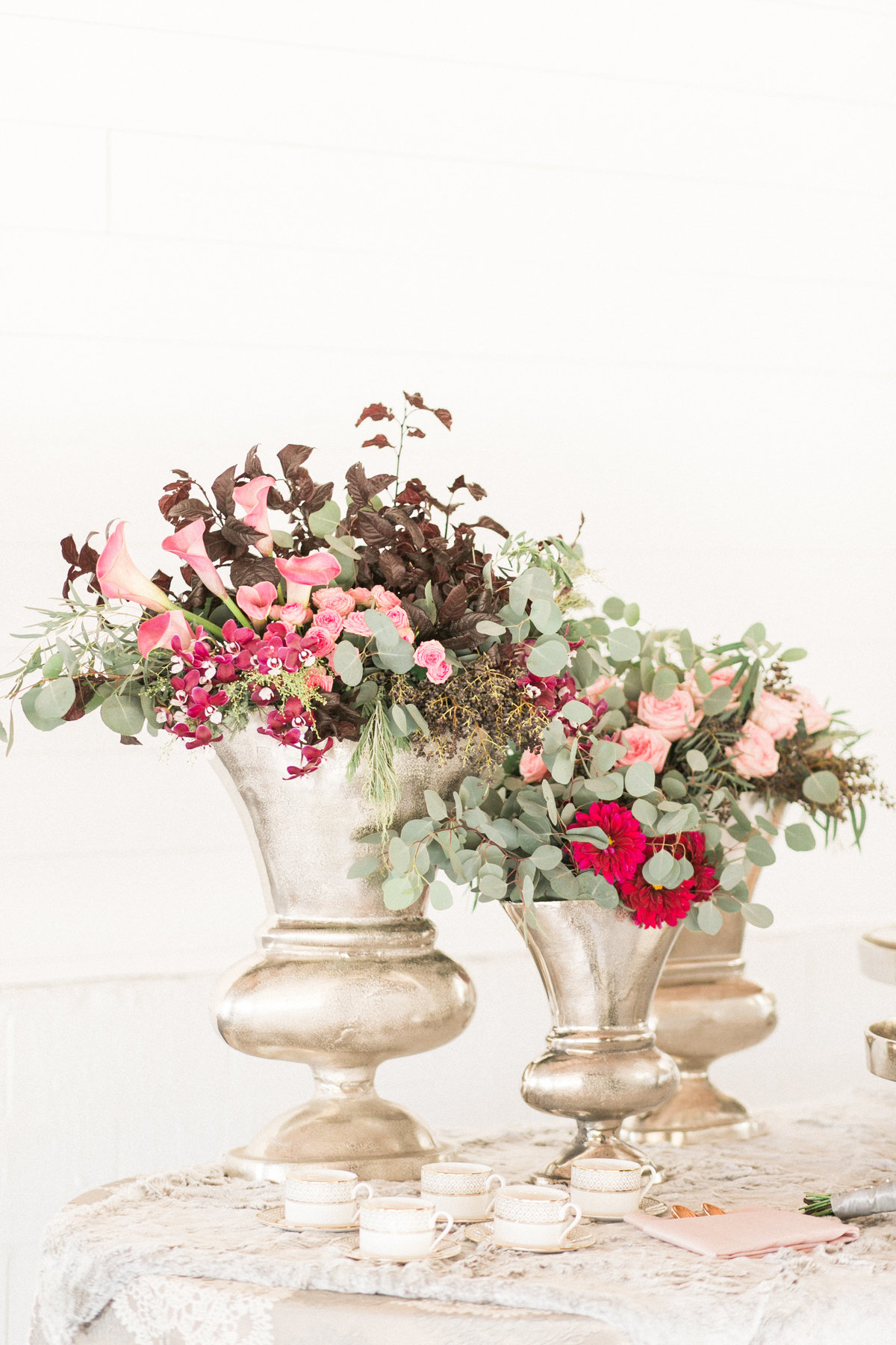 Winter Floral Decor