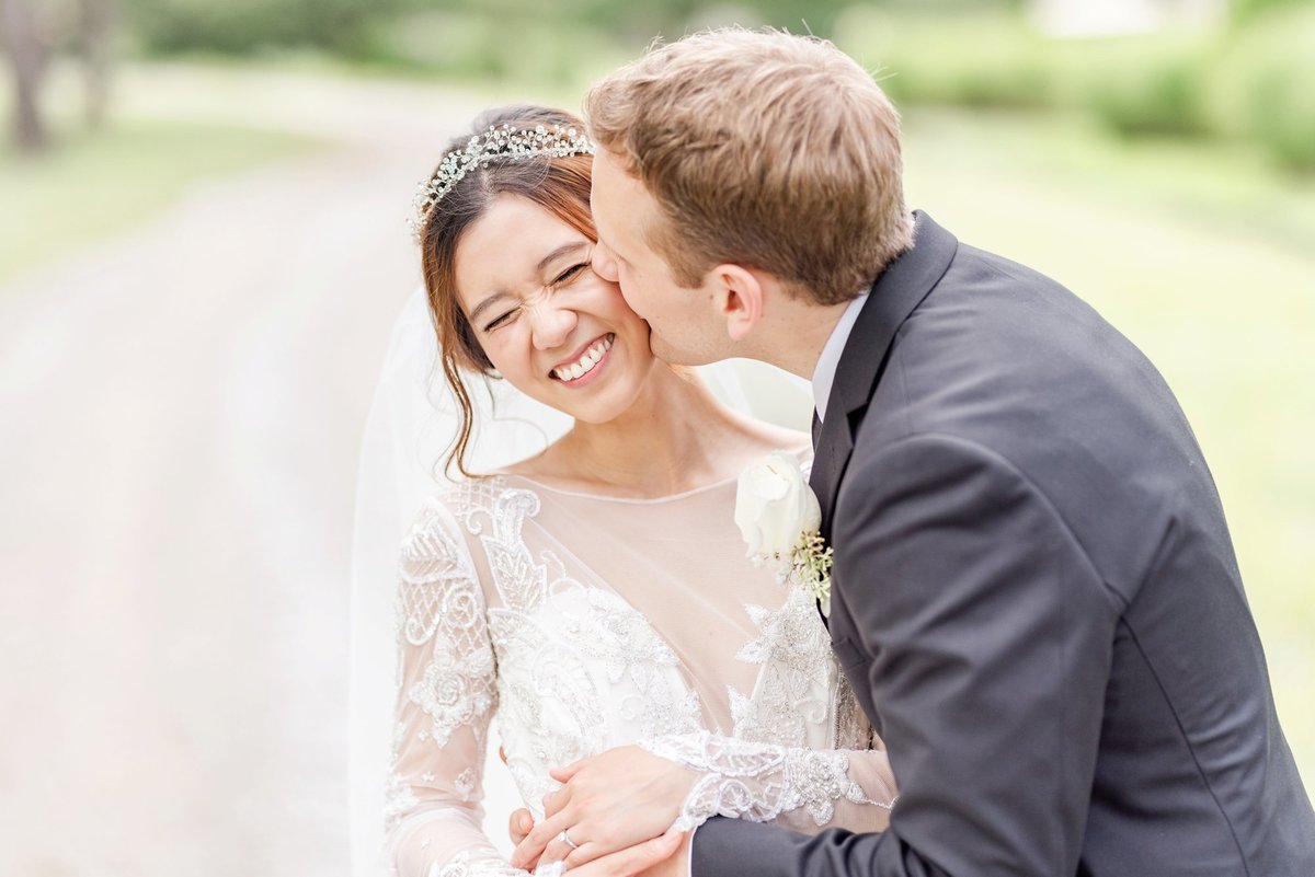 cute-bride-and-groom-laughing