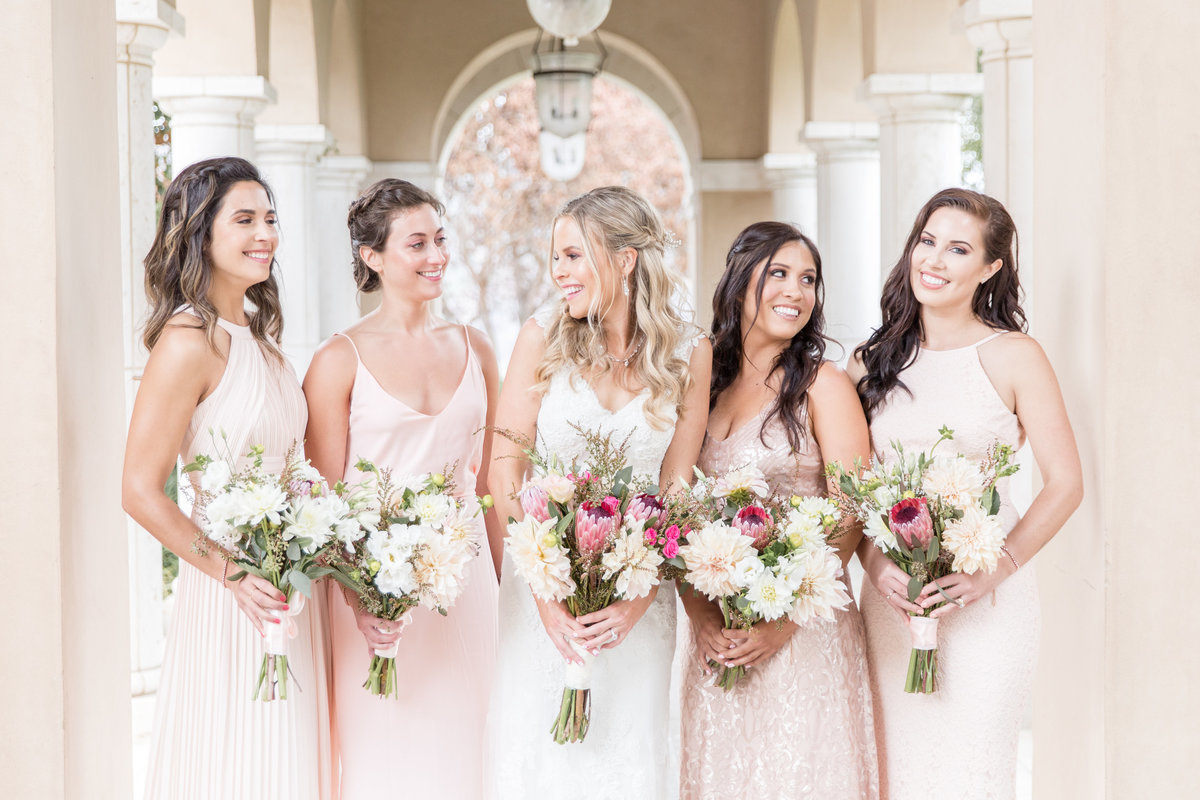 Gina Purcell - orange county wedding photographer - blush bridesmaids - soka university-0001