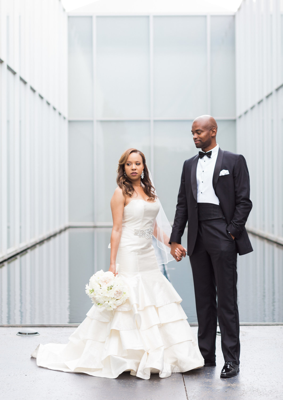 NC Museum of Art wedding photos