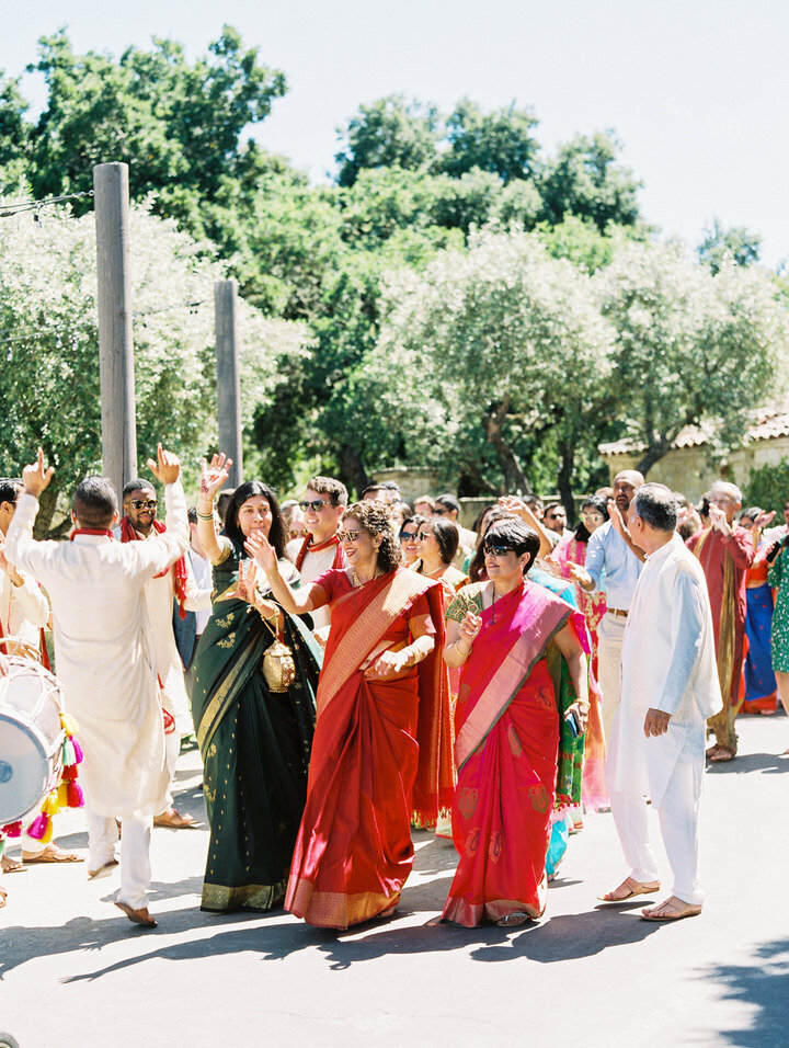 baraat at holman ranch indian wedding