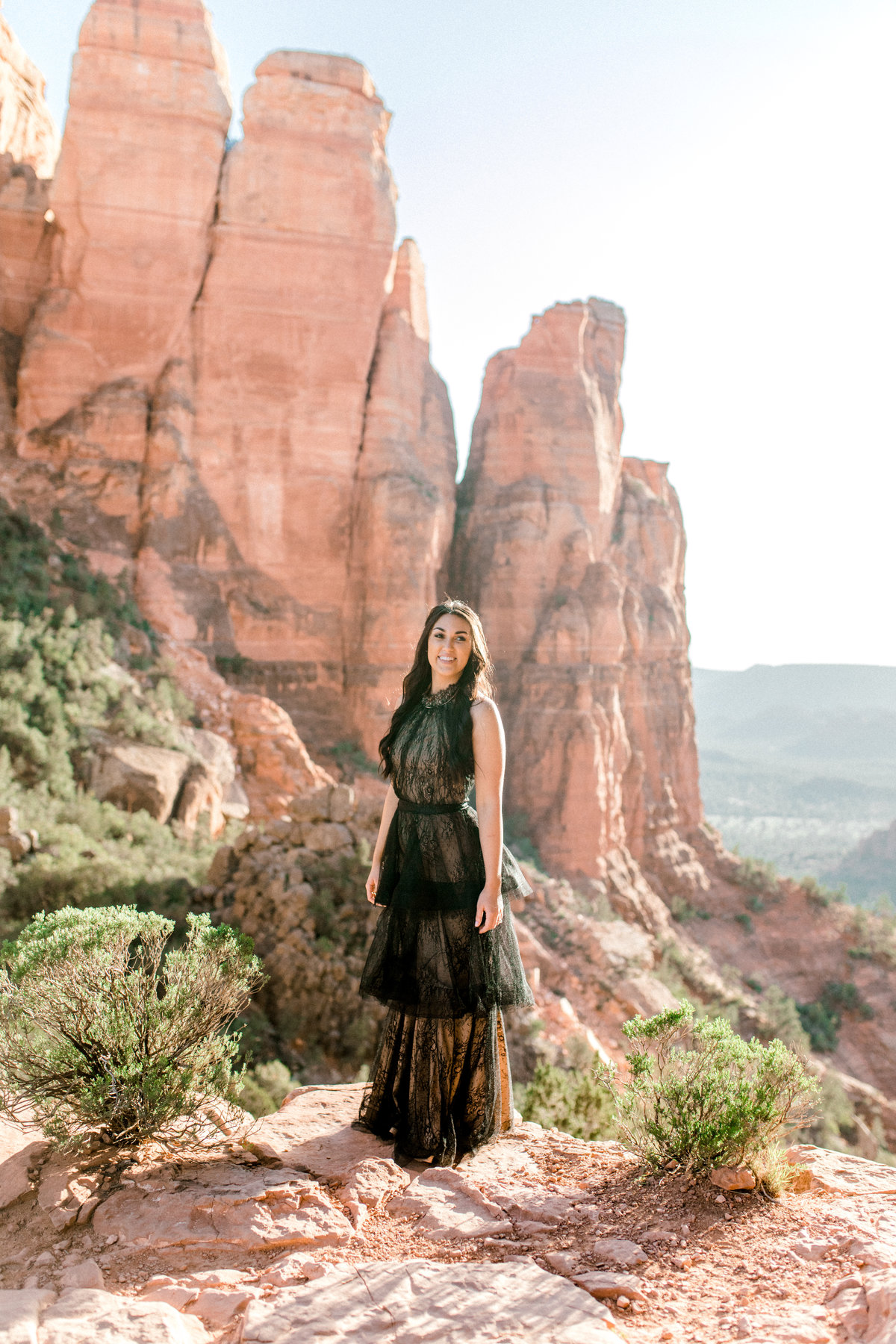 bride in sedona