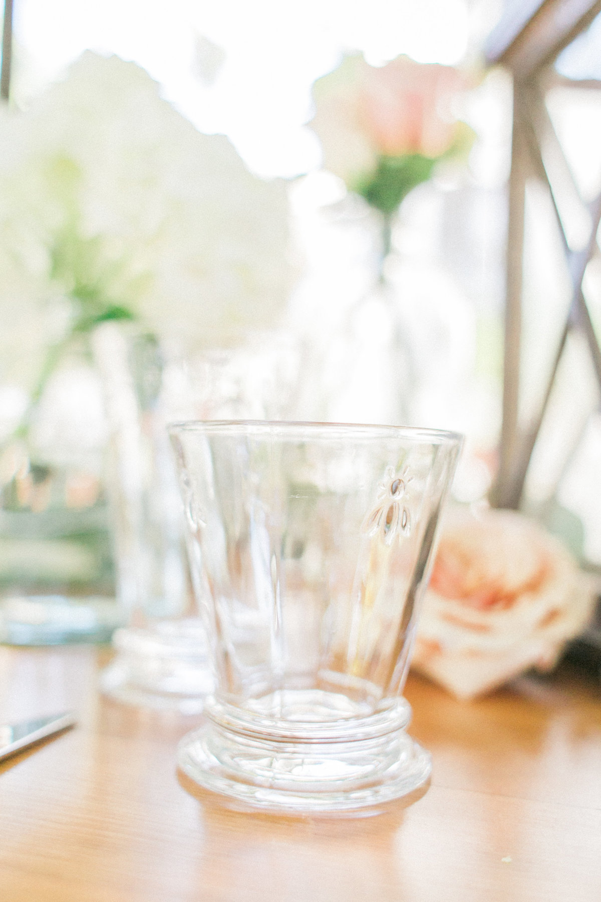 Bright Event Rentals Bees Glassware