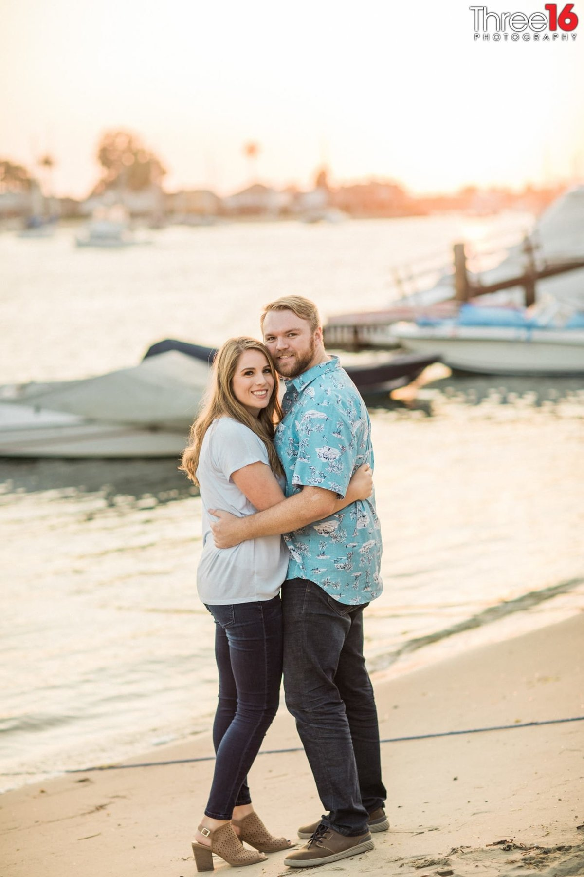 Balboa Island Engagement  Session Photography