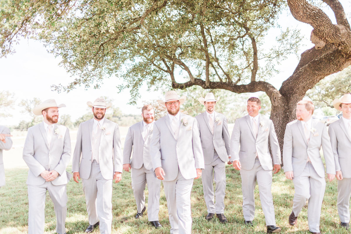 Kairos Celebration Barn Wedding Groomsmen