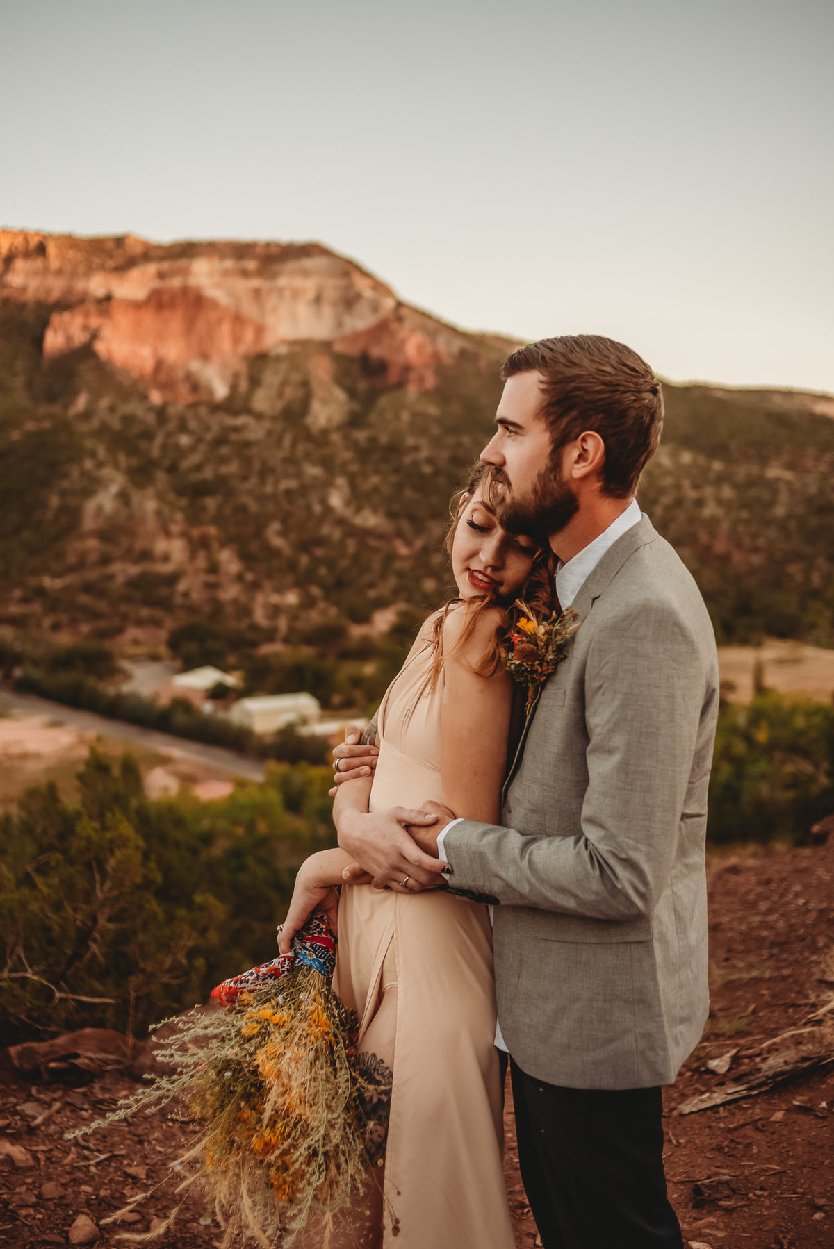 Chels + Alex_Jemez Springs New Mexico Elopement_Sneak Peek_Treolo Photography-2