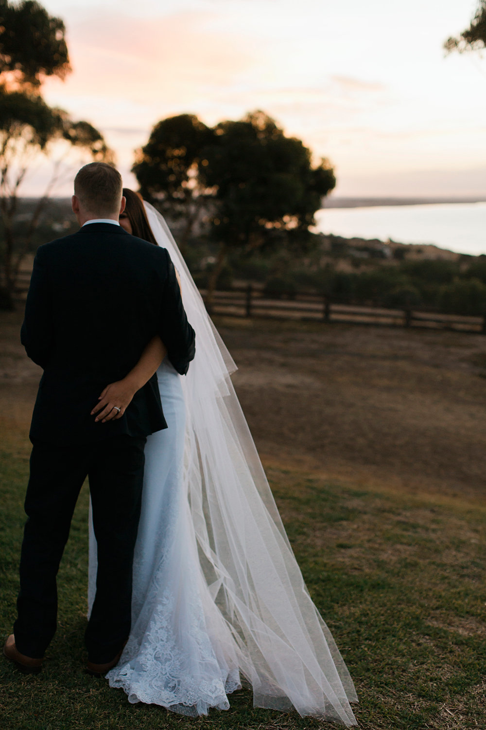 Sunset moments by Geelong Wedding Photographer Monika Berry