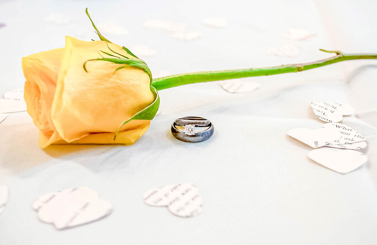 Bald Head Island Wedding Photography - Anna and Ray - Marriage Rings Rose 2 - Wilmington NC Photographers Team