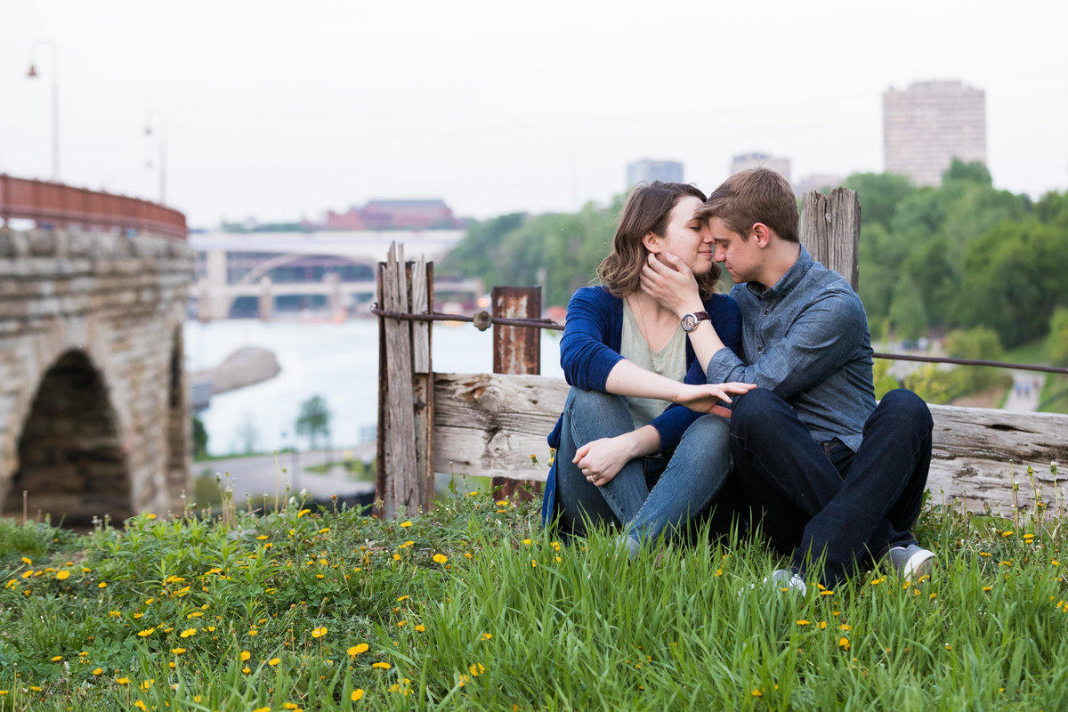 Minneapolis and St Paul Engagement Session Photography