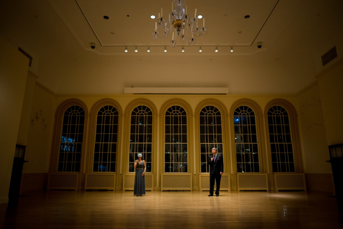 Salem Wedding at Peabody Essex Museum bride and groom photo