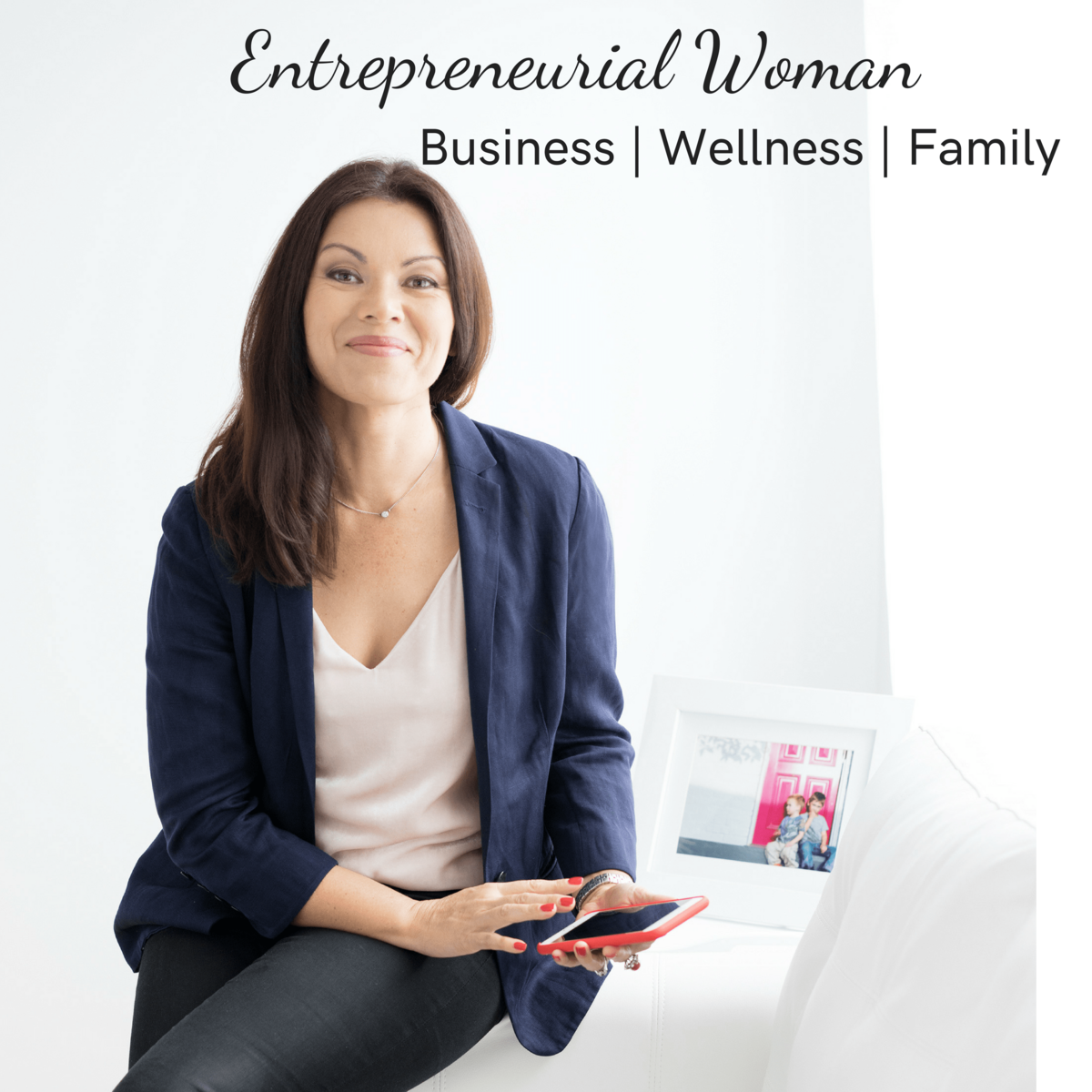 Entrepreneurial woman Podcast logo 3000 x 3000-min