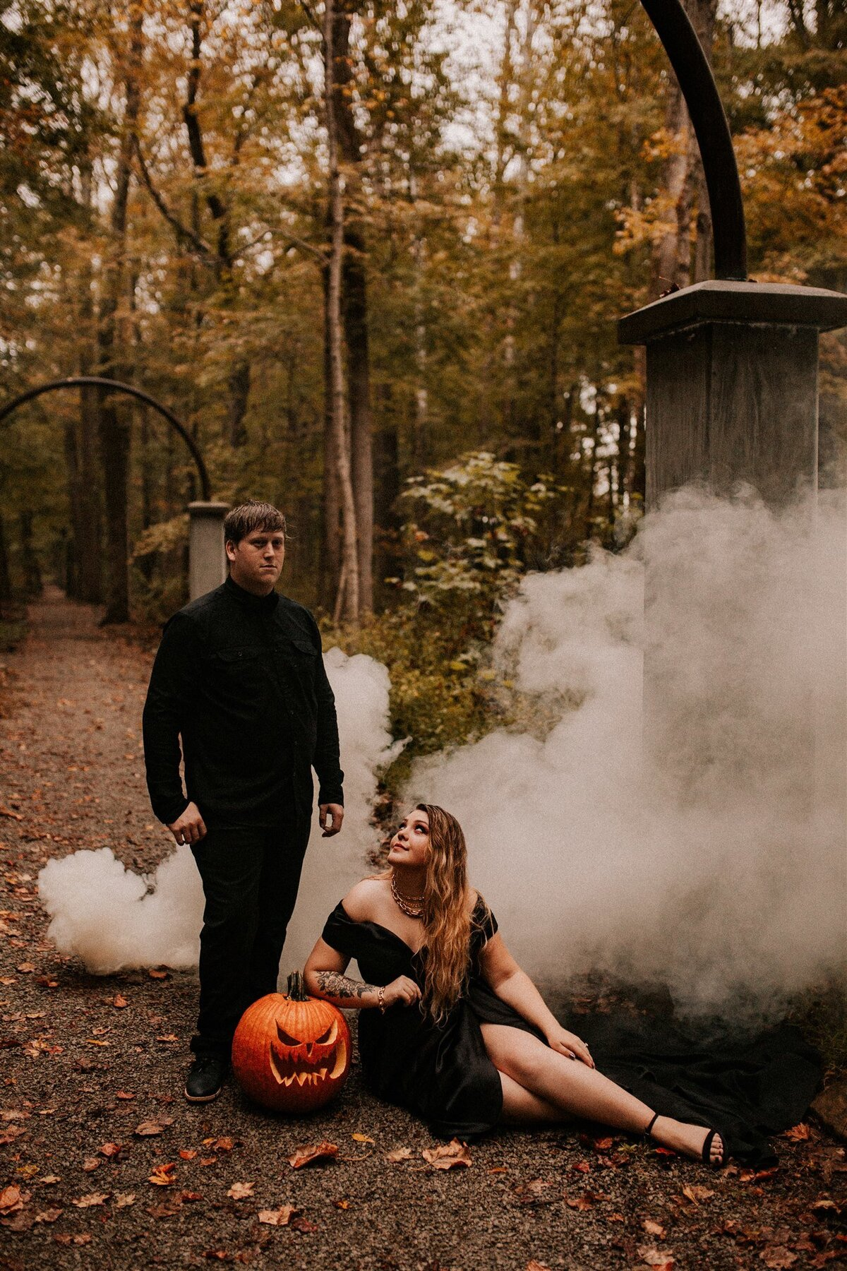 Brizzy-Rose-and-Emma-Rose-Island-Charlestown-Spoopy-Engagement-Session-18