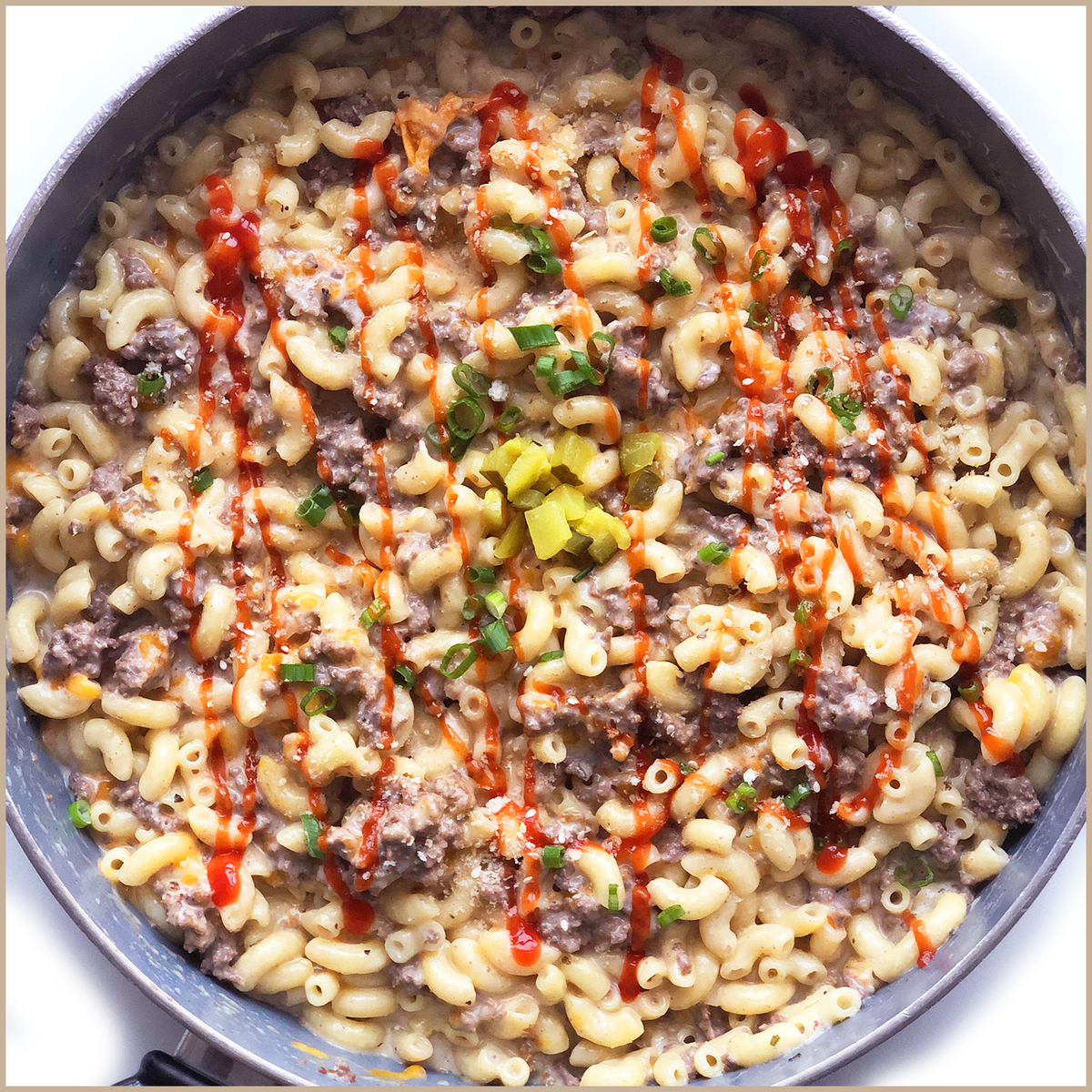 Whippt Kitchen cheeseburger mac & cheese-