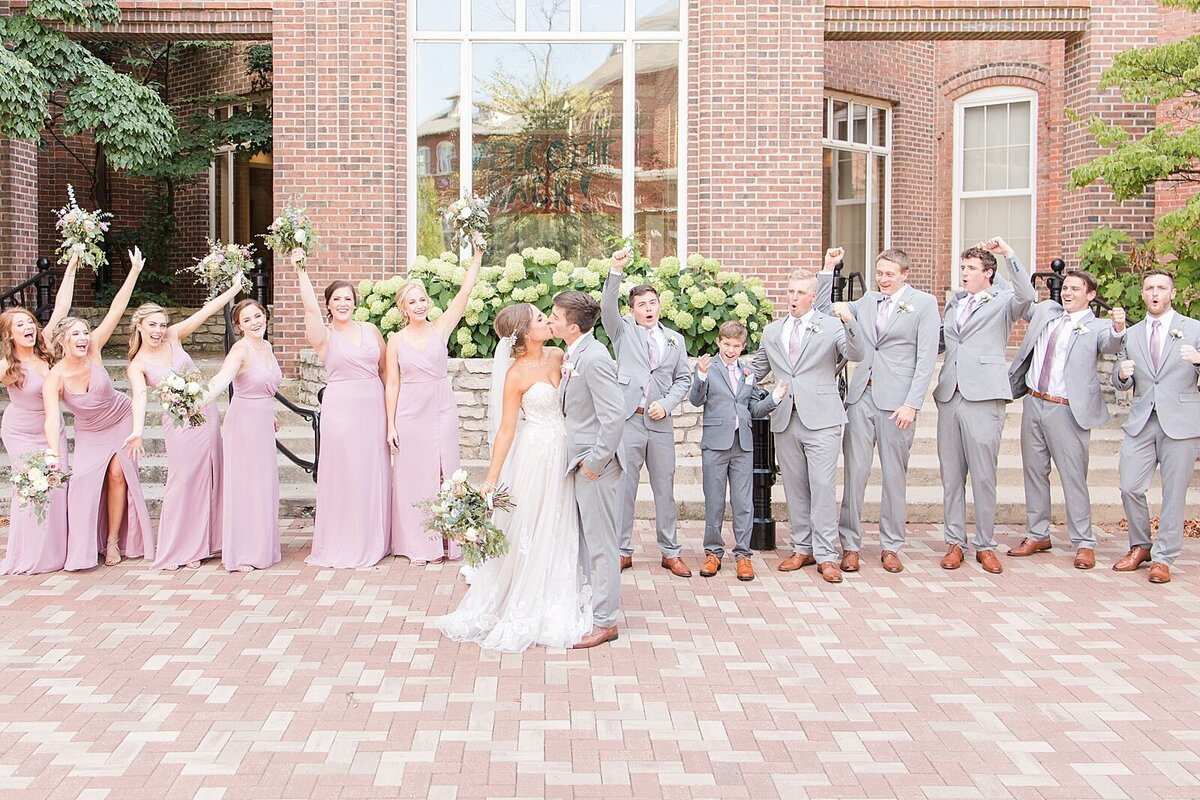 Kara Webster Photography | Meredith & Tyler | University Of Dayton Marriott Wedding Photographer_0052