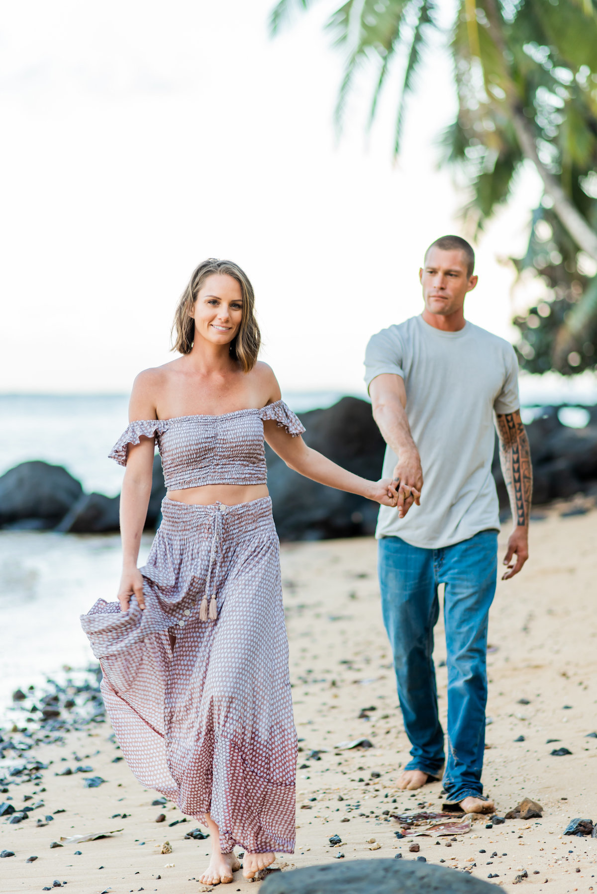 Kauai Couples beach Photographer