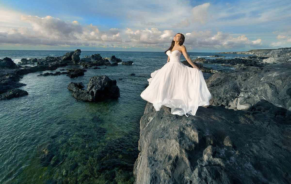 Wedding photography in  Kauai