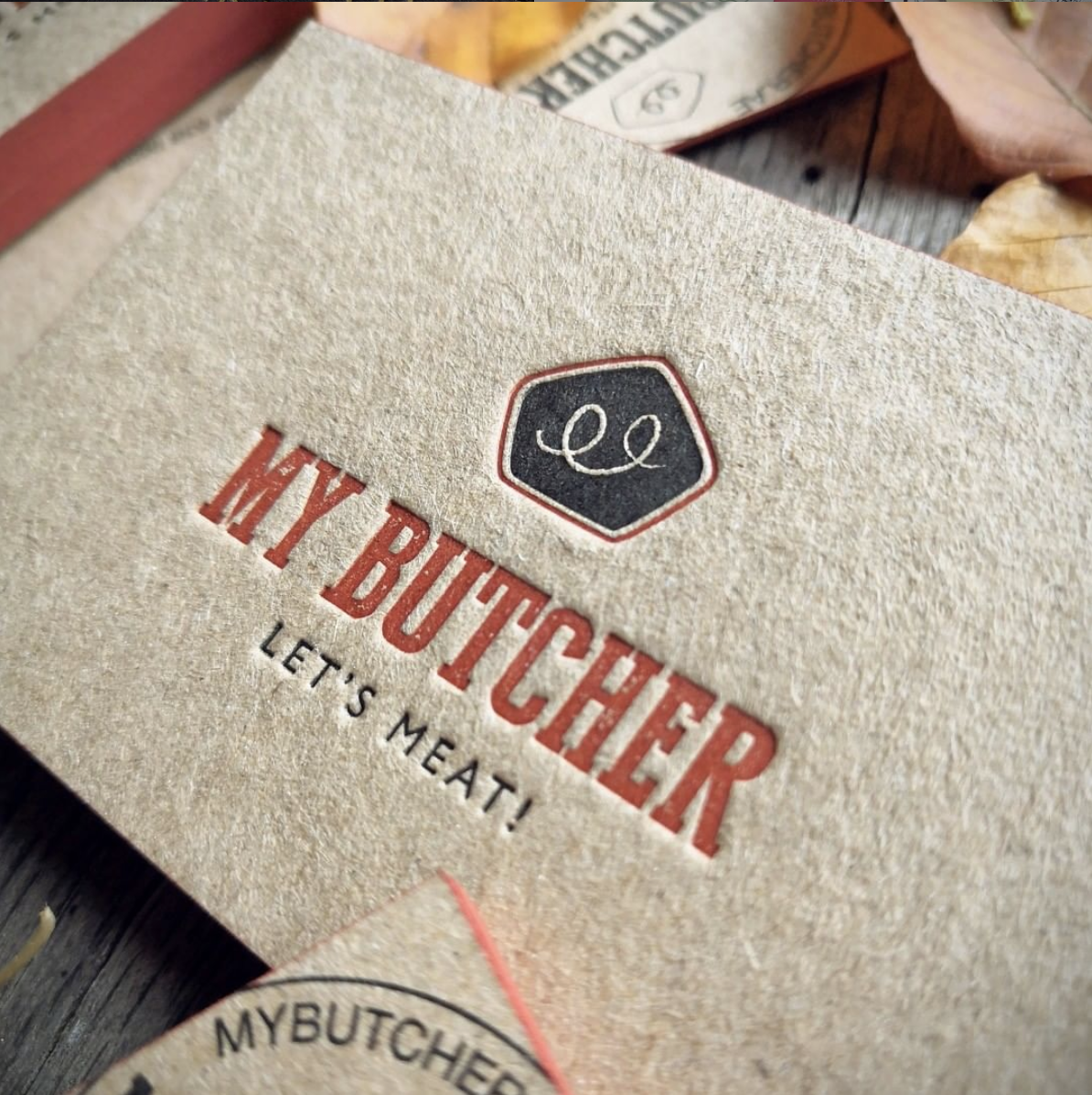 Mybutcher Business cards