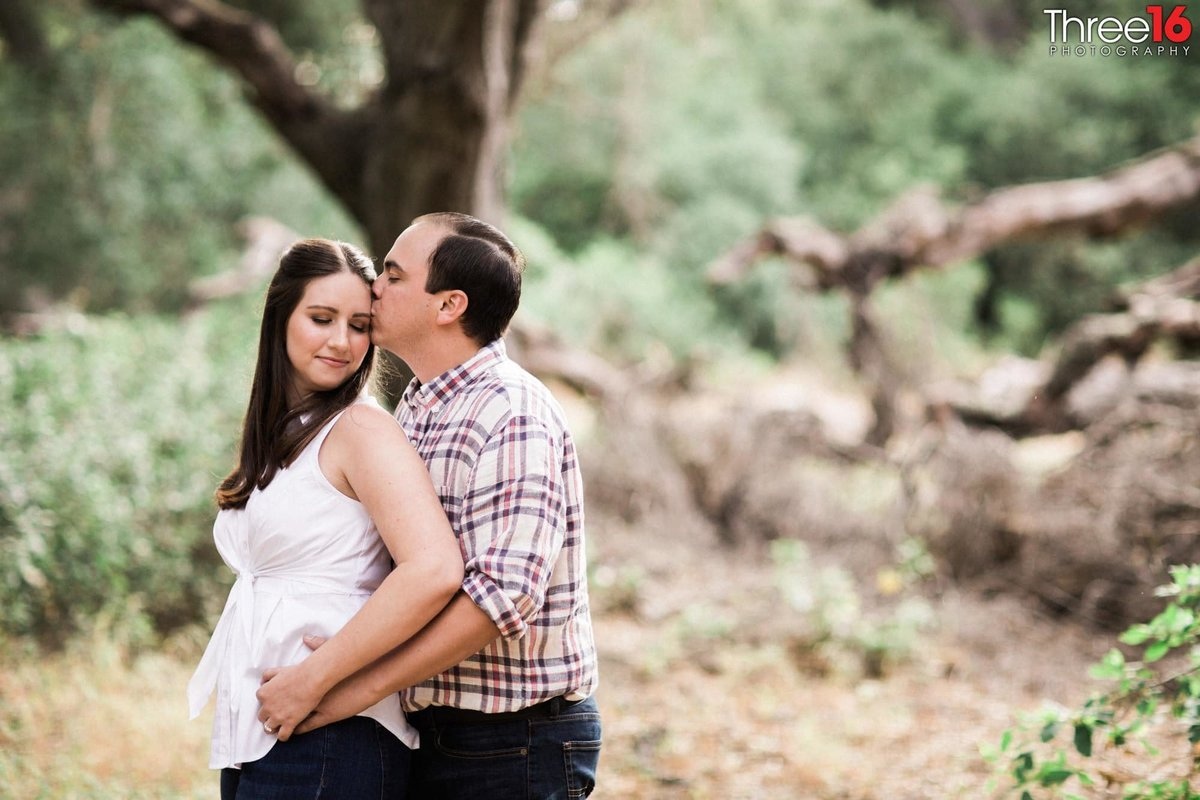 Thomas F. Riley WIlderness Park Engagement Trabuco Canyon Orange County Wedding Hiking Trails