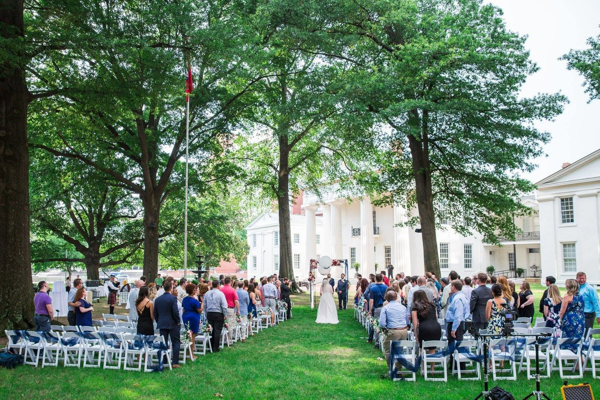 Old State House Wedding Ceremony in Downtown Little Rock