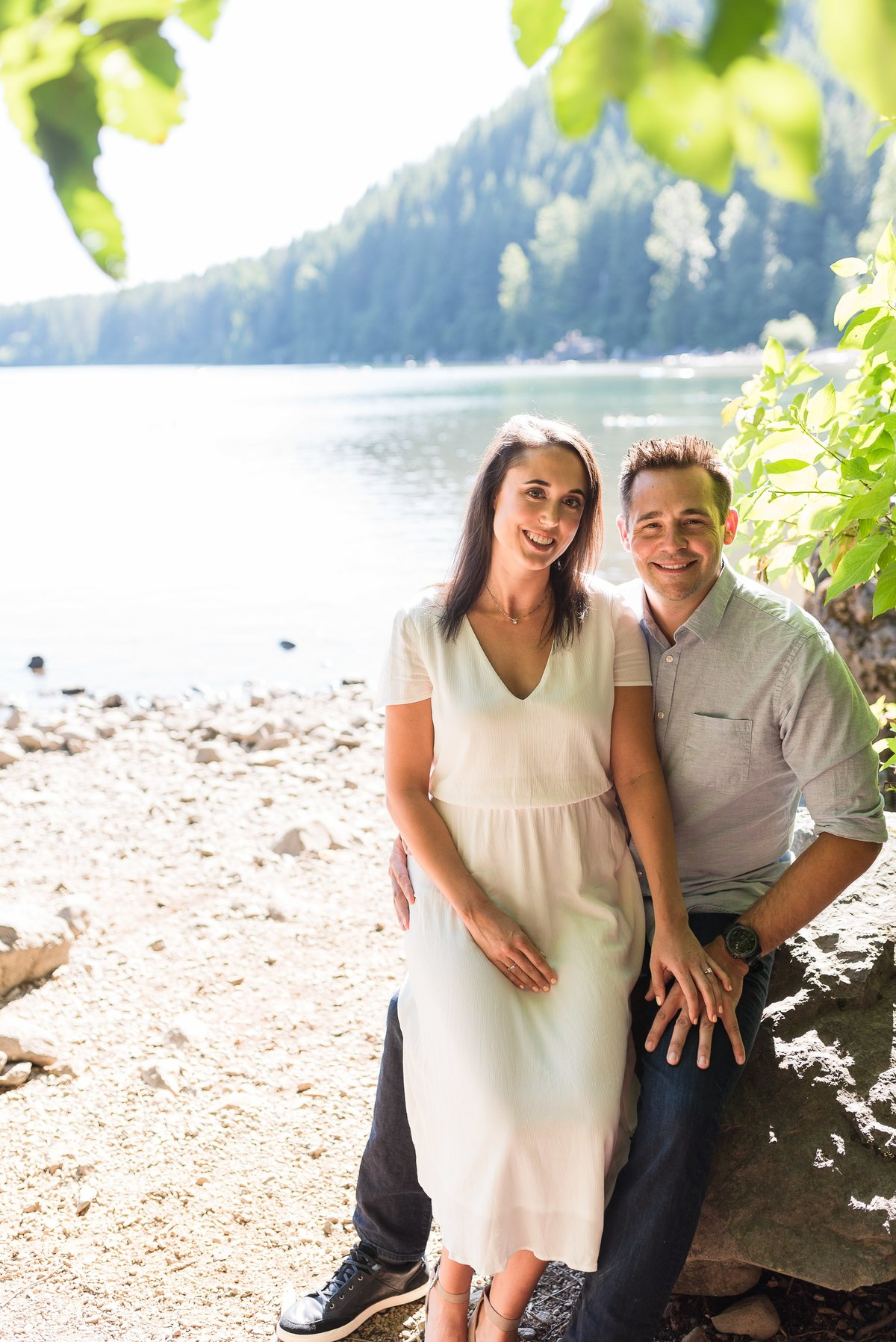 Rattlesnake Lake Engagement Session - 02