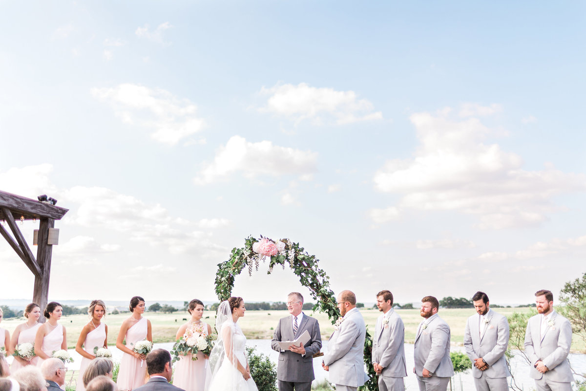 Kairos Celebration Barn Wedding Ceremony