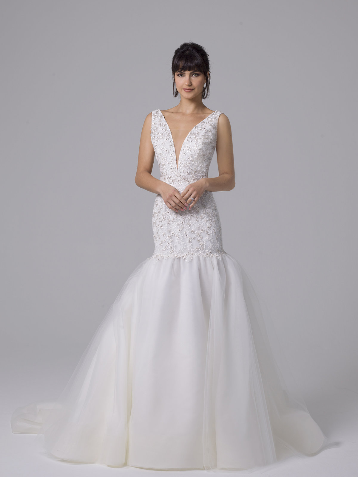 Liancarlo Fit to Flare Wedding Ballgown