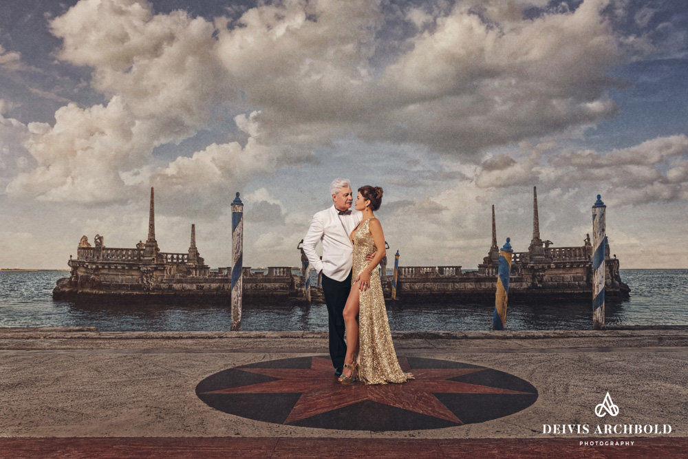 Vizacaya engagement session miami deivis archbold photography