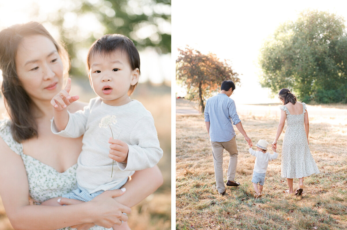 Warren G. Magnuson Park Family Session - Film Family Photography - Seattle - Fine Art - Light and Airy - Family photos - 2