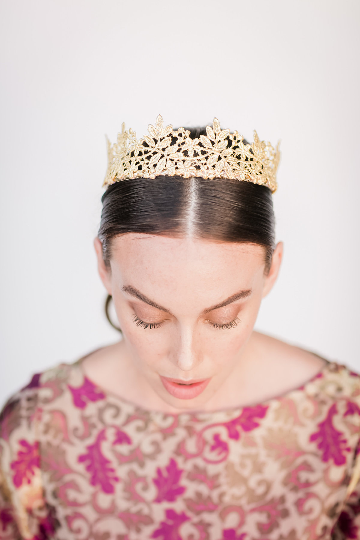 Bridal Crown Editorial Shoot Trace Henningsen Accessories_Valorie Darling Photography-8237
