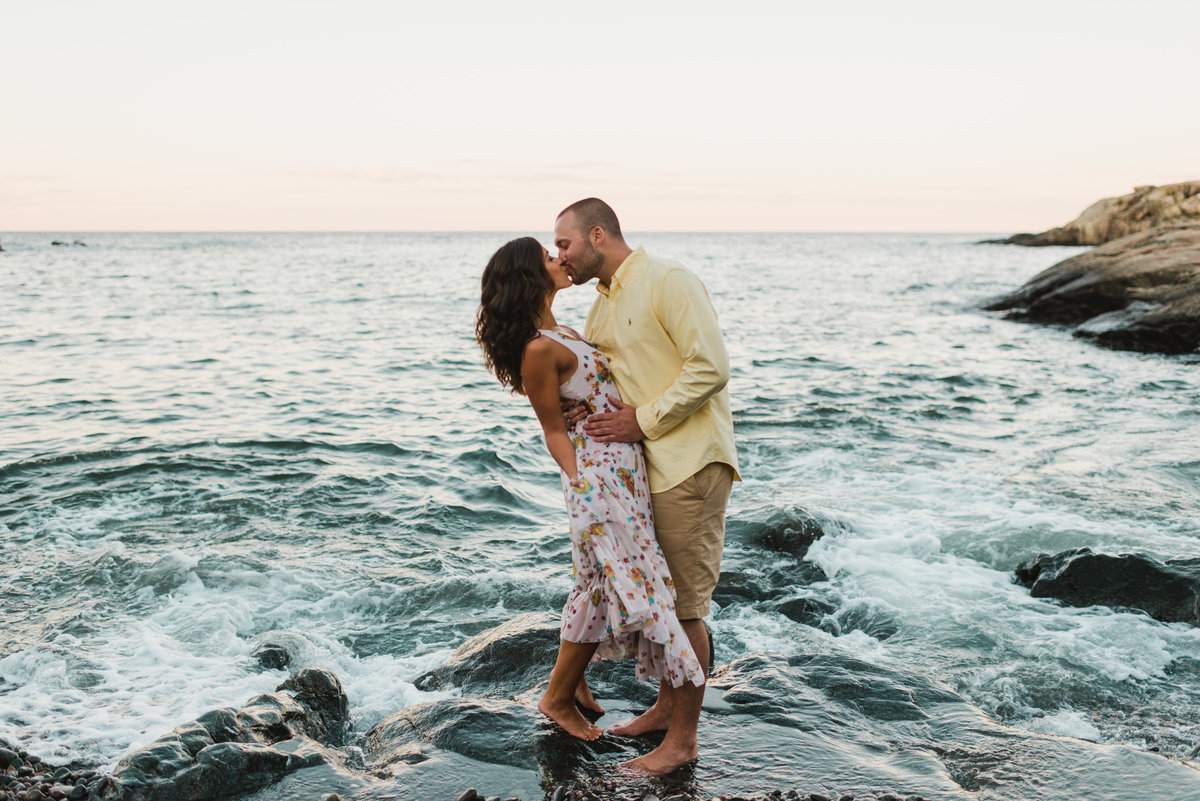 Nahant Beach Engagement Session