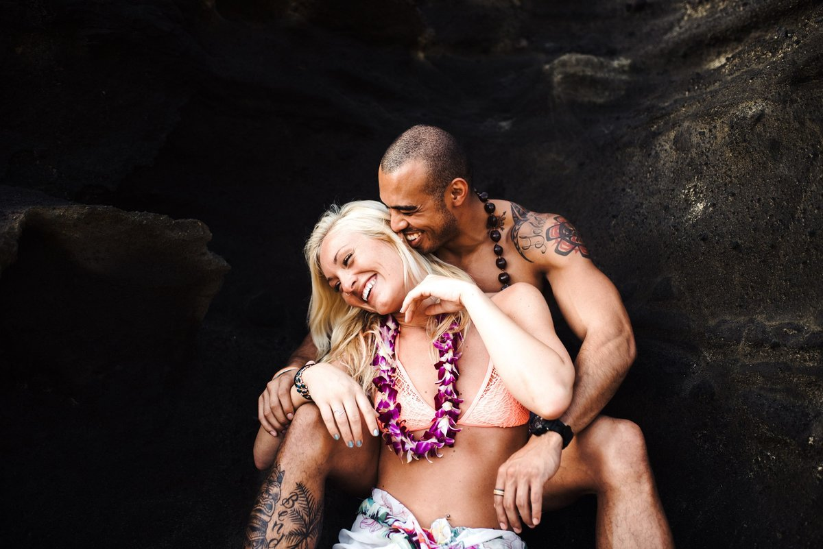 Eternity Beach Honolulu Hawaii Destination Engagement Session - 60
