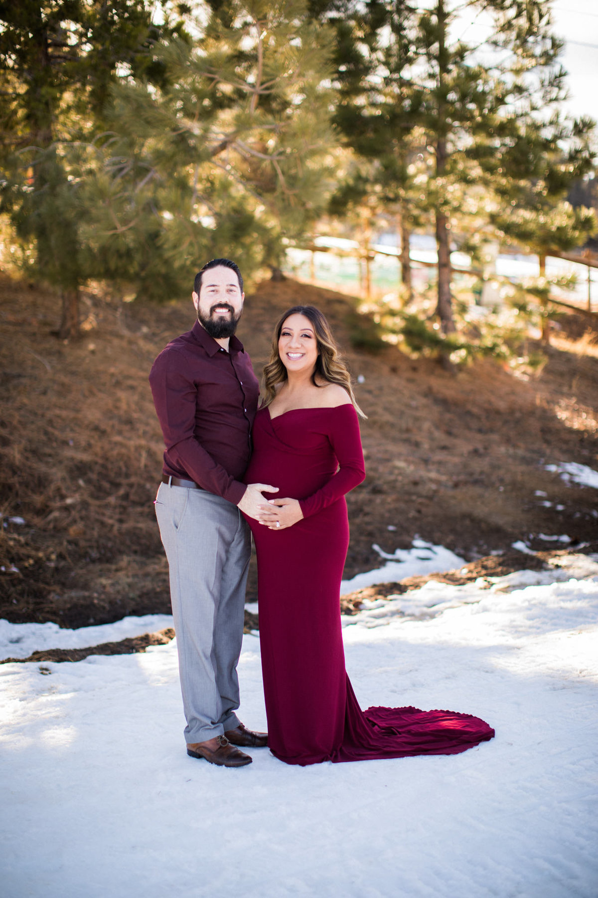 Orange County Photographer Maternity Photography Baby Bump Photos_