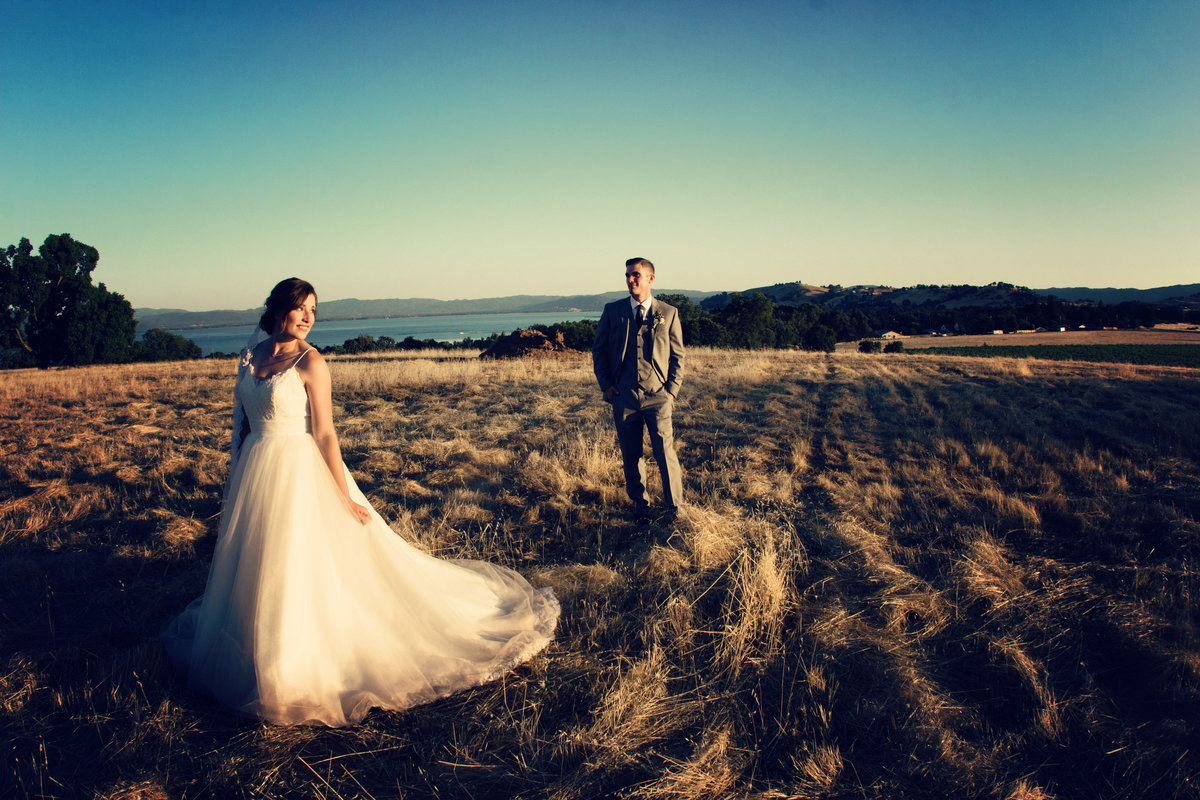 bride and groom romantics, bride and groom formal photo