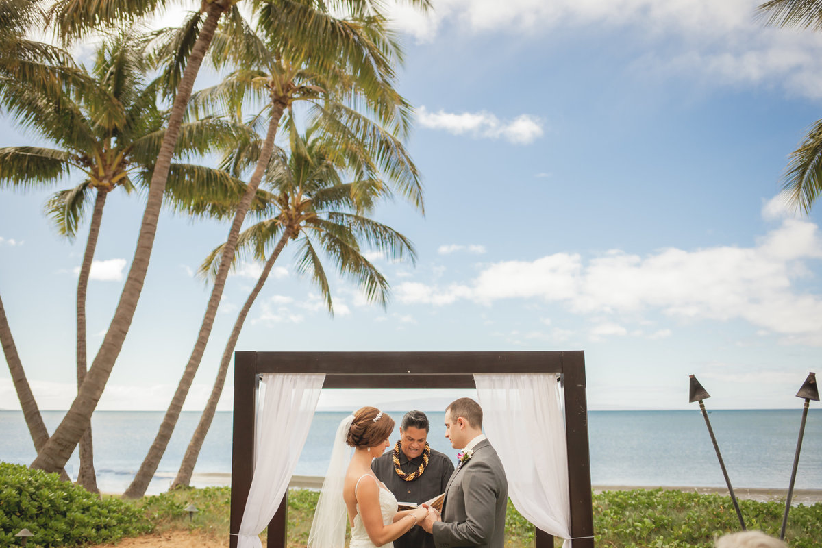 Sugar beach wedding photo