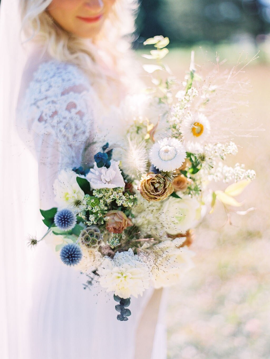 Michigan Wedding Florist Bridal Bouquet-min