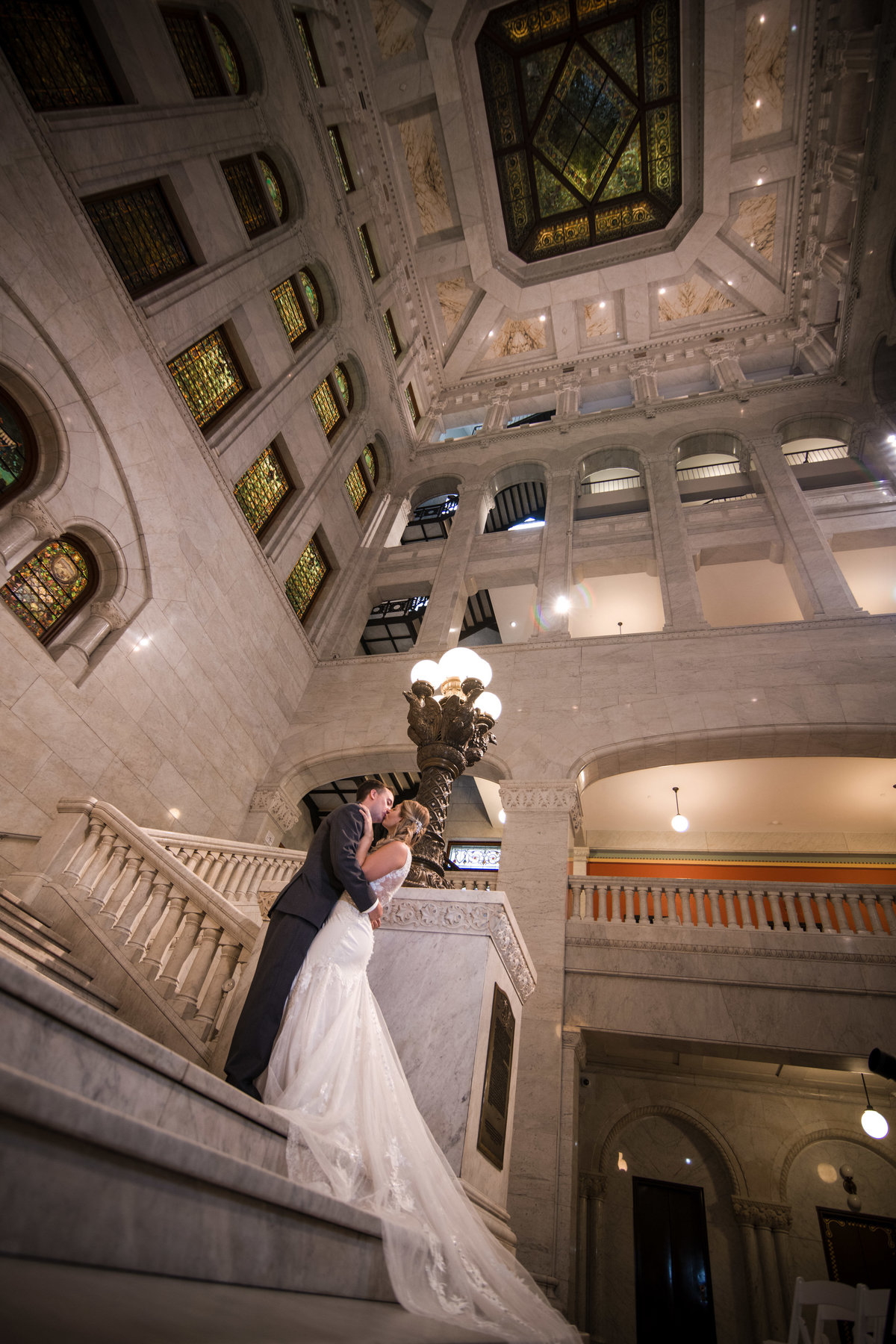 Libby and Ian - Minnesota Wedding Photography - Minneapolis City Hall - RKH Images - Portraits  (135 of 248)