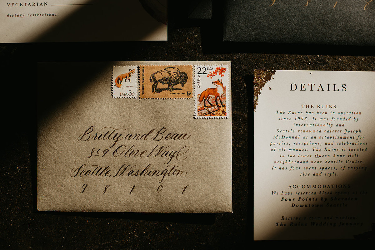 Britty + Beau - Elopement - The Ruins_ Seattle_ WA - Kamra Fuller Photography - Runaway With Me Elopement Collective-9
