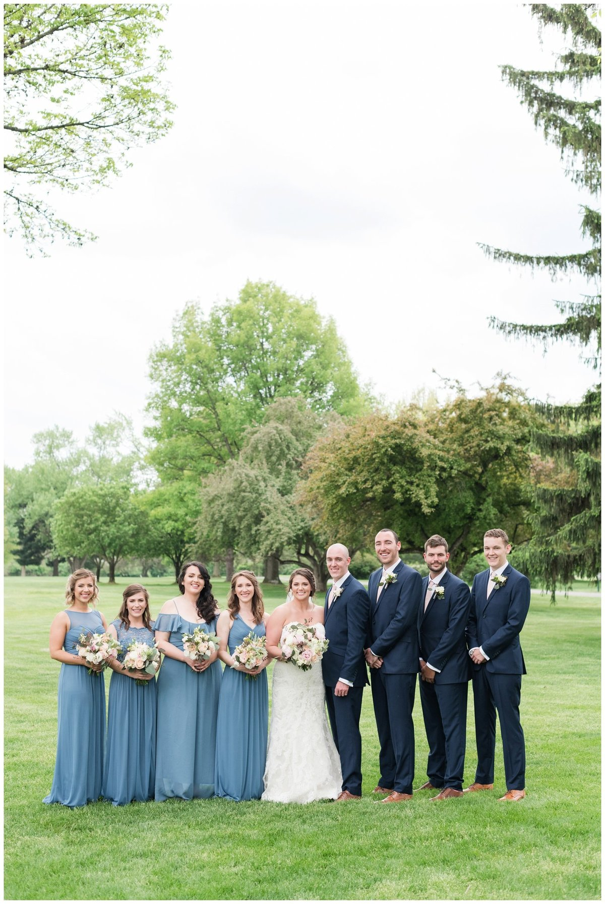 columbus ohio wedding photos brookside golf and country club outdoor wedding_0038