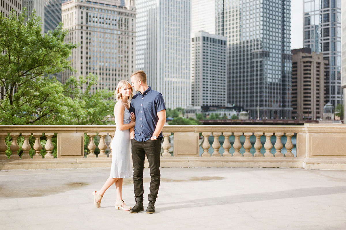 Chicago Wedding Photographer - Fine Art Film Photographer - Sarah Sunstrom - Sam + Morgan - Engagement Session - 16