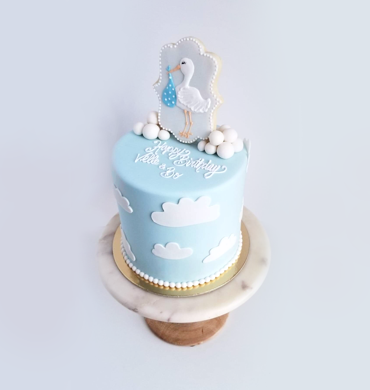 Whippt Desserts - Baby Shower Cake Oct 2018