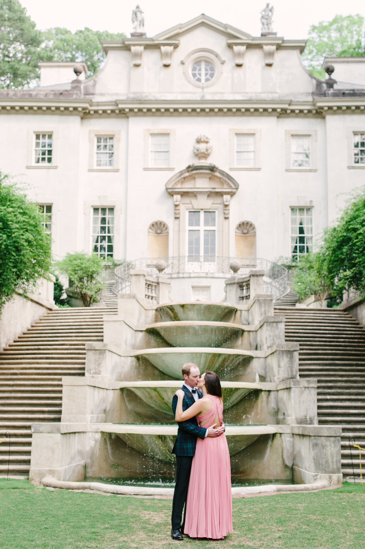 Swan House Engagement ATL