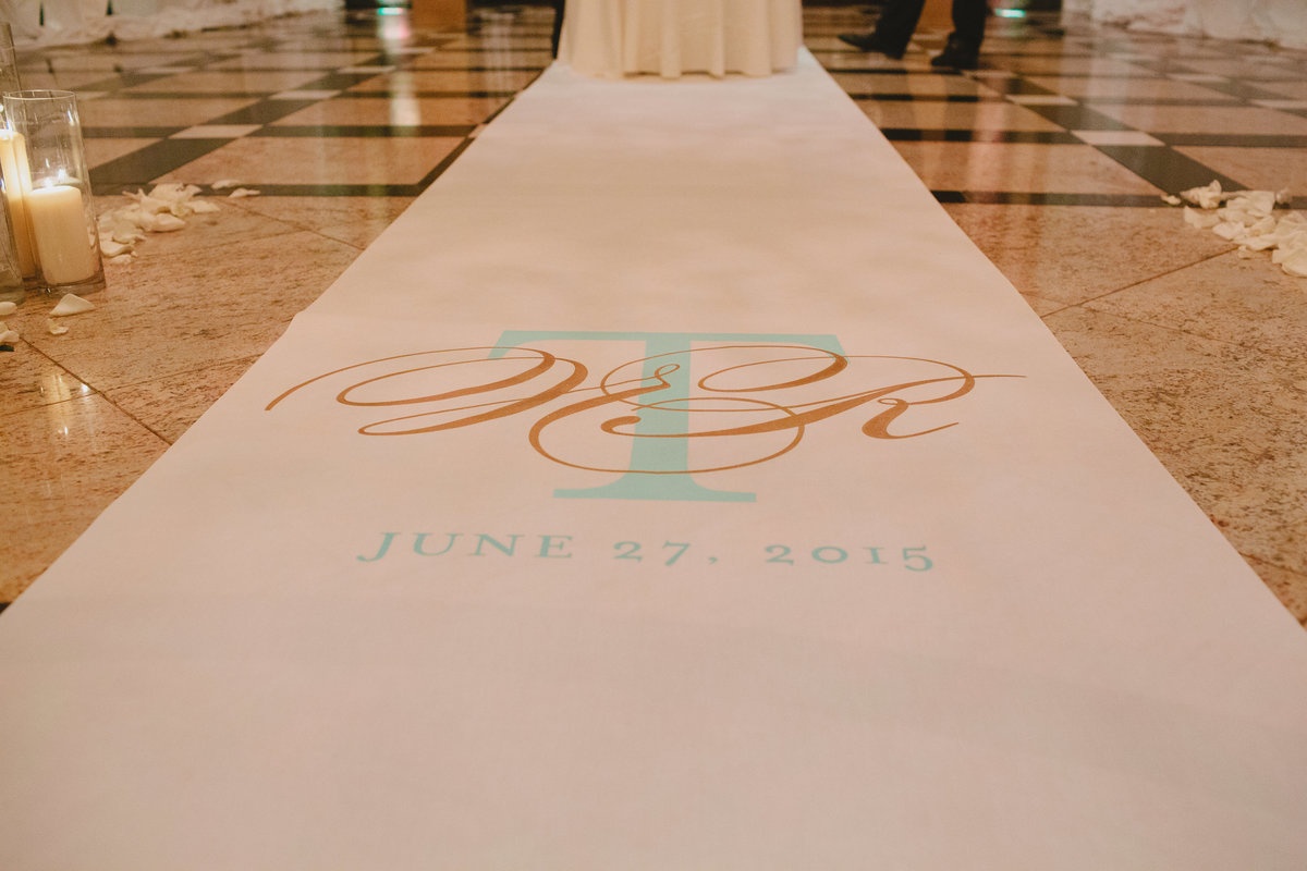 ivory gold tiffany blue beautiful wedding venetian new jersey nj event designer 4