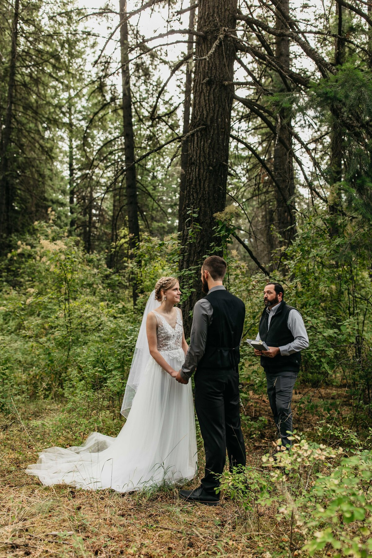Elopement and Backyard Wedding Photographer in Hayden Idaho, English Point Elopement - Clara Jay Photo_-2