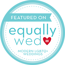 Featured on equally wed modern lgbtq weddings