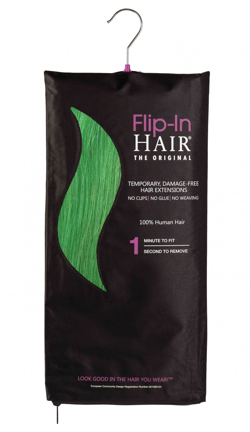 Flip-In Hair Original Emerald Green