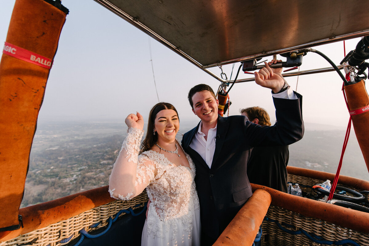 Hot Air Balloon Elopement Marie Monforte Photography-150