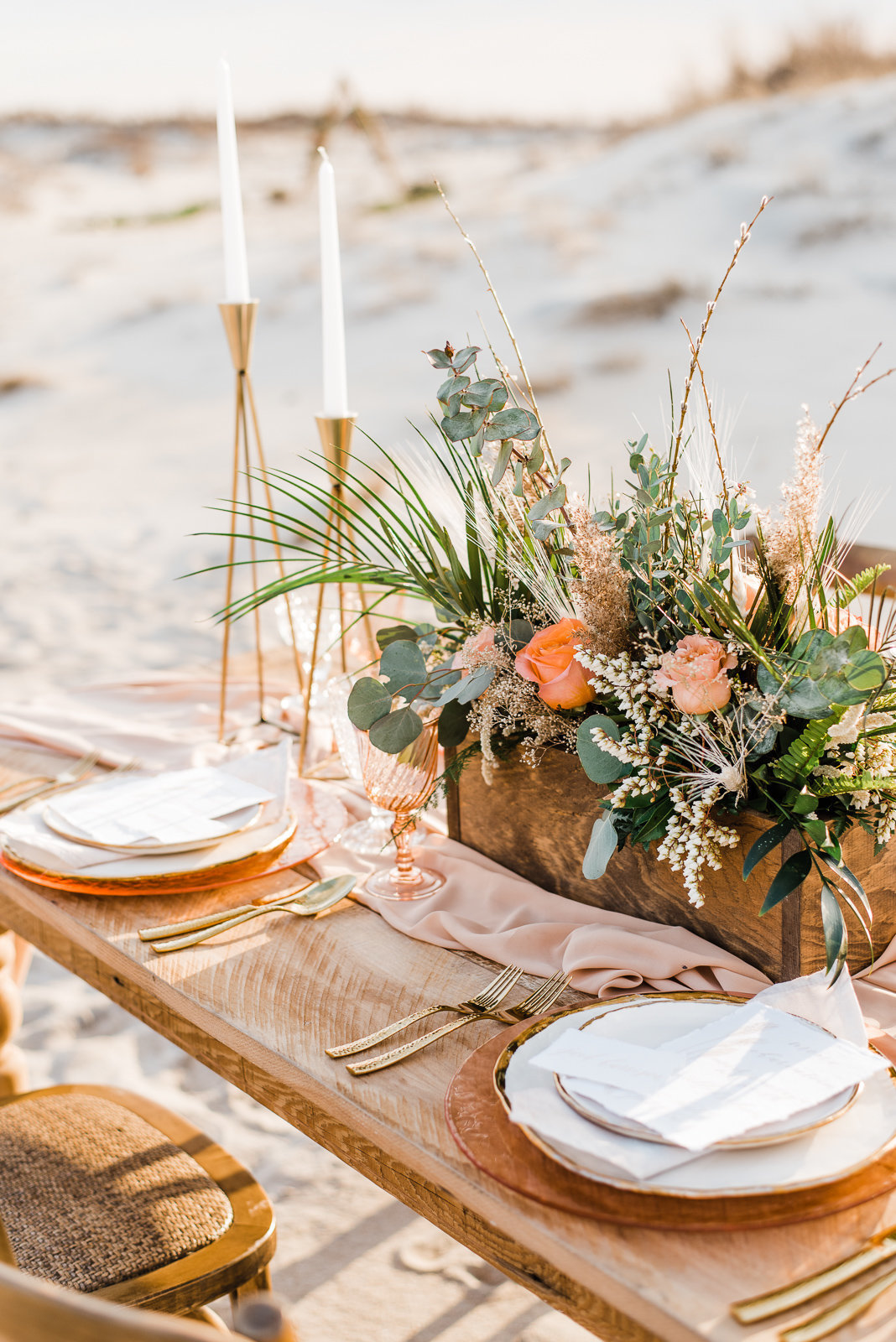 Fine Art Wedding Assateague Island, Maryland