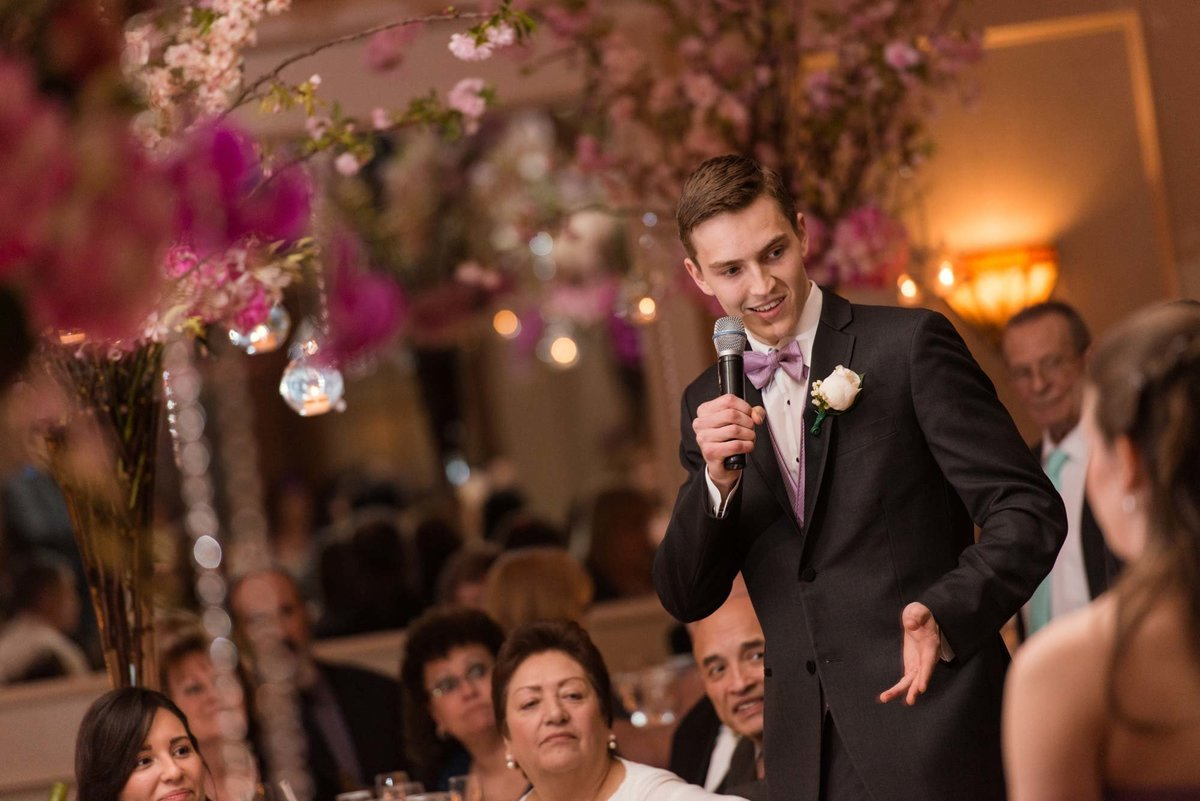 Best man speech at Larkfield Manor
